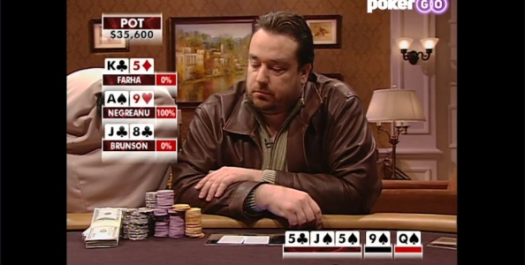 Todd Brunson, che bluff! High Stakes Poker 2006