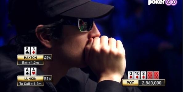 Quando si esagera con l'aggressività: Lunkin – Haxton, WSOP 2009