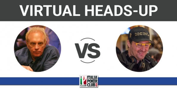 """Virtual Heads Up ep.3: David """"Chip"""" Reese 1996 – Phil Hellmuth 2019"""