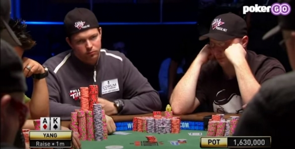 Paga sempre l'aggressività? Hilm vs Yang, final table WSOP 2007 – VIDEO