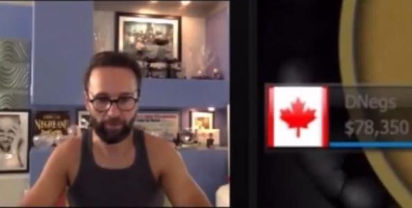 Daniel Negreanu sbrocca in diretta streaming e viene bannato da Twitch