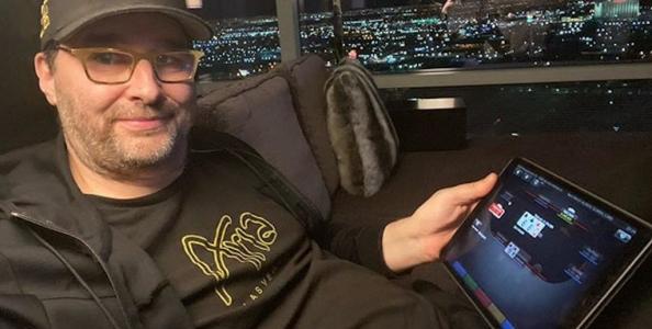 L'ufficio di Phil Hellmuth all'Aria per giocare online