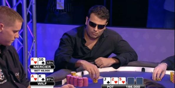 Jason inarrestabile: Mercier-Wilf, WSOPE 2009 – VIDEO