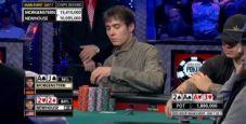 WSOP 2013: Morgenstern vs Newhouse, come buttare la chiplead