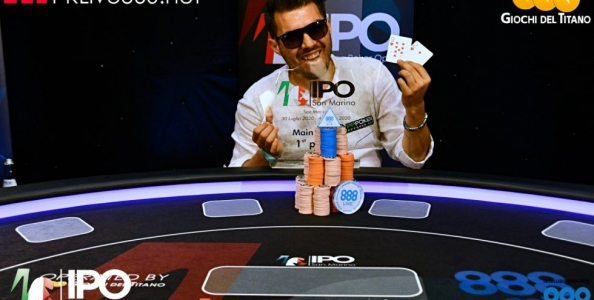 Francesco Di Domenico vince IPO San Marino Summer Edition