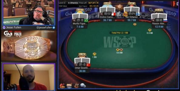 Video-replay: il Tavolo Finale del 2.100$ WSOP vinto da Enrico Camosci