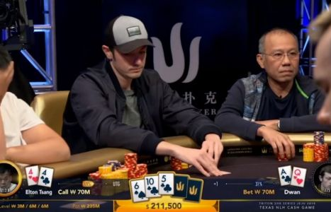 Triton Super High Roller Cash Game: Dwan, che bluff!
