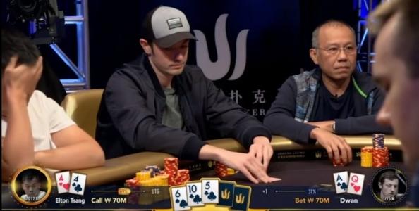 Triton Super High Roller Cash Game: Dwan, che bluff!