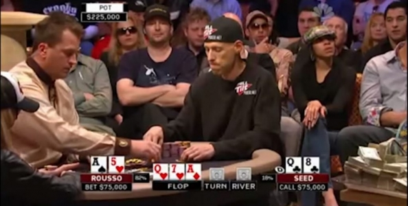 NBC Heads Up Championship 2009: nice bluff, mr Seed