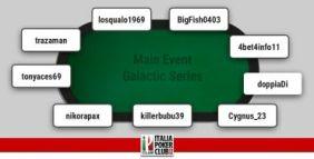 I grafici e le statistiche dei finalisti del Main Event Galactic Series