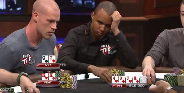 PAD cash game: Peat vs Ivey, una chiamata molto strana