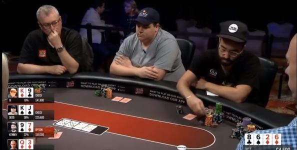 Poker Night Cash Game: Kenney vs Berkey, un rilancio geniale
