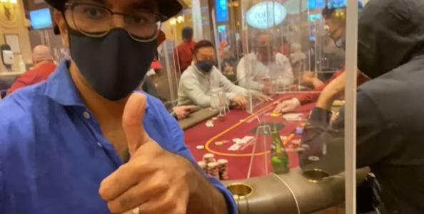Un mese di cash game a Las Vegas durante l'emergenza Coronavirus con Faraz Jaka