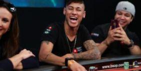 Neymar jr ha una brutta scaramanzia nei tornei di poker live
