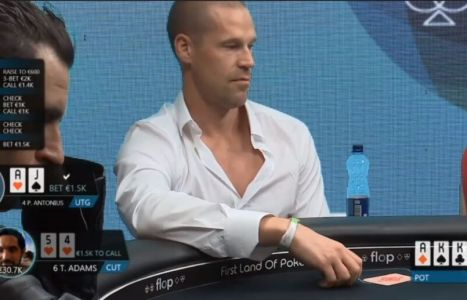 Patrik Antonius Poker Challenge Cash Game: come rispondere ad una overbet al river