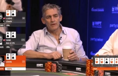 From Dusk Till Dawn 2019 cash game: John Duthie, che fold