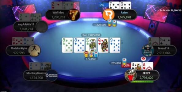 PokerStars EPT Online: Parssinen vs Rolle, si fa leva sugli shortstack
