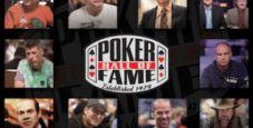 Chi sono i candidati di quest'anno alla Poker Hall Of Fame