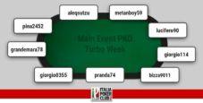 I grafici e le statistiche dei finalisti del Main Event PKO Turbo Week