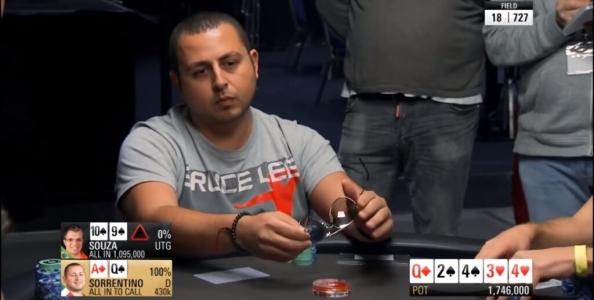 PokerStars Championship Montecarlo 2017: Sorrentino vs Souza, una decisione complessa
