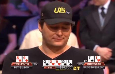 NBC Heads Up 2010: Hellmuth vs Obrestad, un call troppo azzardato