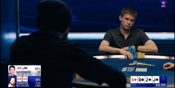 PCA High Roller 2018: Byron Kaverman ed un complesso hero call