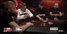 PartyPoker cash game: Koon vs Duthie, una spewata non necessaria?