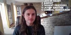 Charlie Carrel: Ecco i 5 motivi per cui la gente non ha successo nel poker