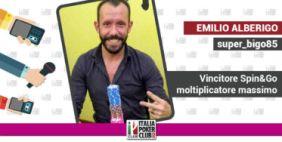 Meglio se in game non te ne accorgi: Emilio Alberigo racconta la vittoria dello Spin dal moltiplicatore massimo