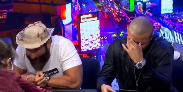Al tavolo verde Dan Bilzerian fa paura ai suoi amici