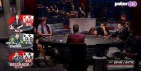 Dwan, Bellande, Ji e il piatto che entra nella storia di High Stakes Poker