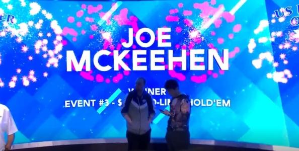 Vincere un torneo senza giocare l'heads-up: la mano che consegnato a Joe McKeehen il 10K US Open