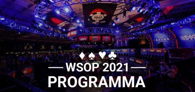 Ecco il calendario completo delle WSOP 2021