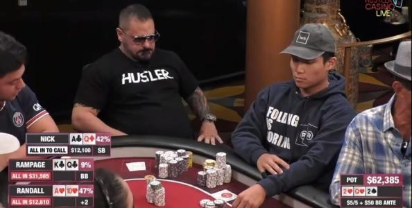 Deep cash game 5/5 : una brillante ma discutibile scelta