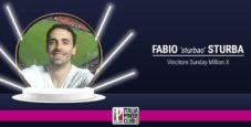 Chi è Fabio sturbao Sturba, il vincitore del Sunday Million X