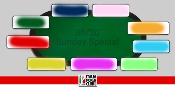 I grafici e le statistiche dei finalisti del Sunday Special 30/30