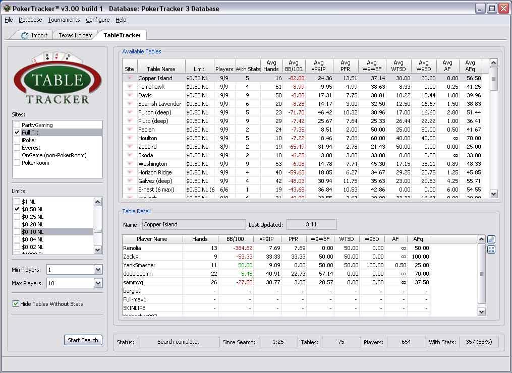 Poker Tracker 3 Кряк