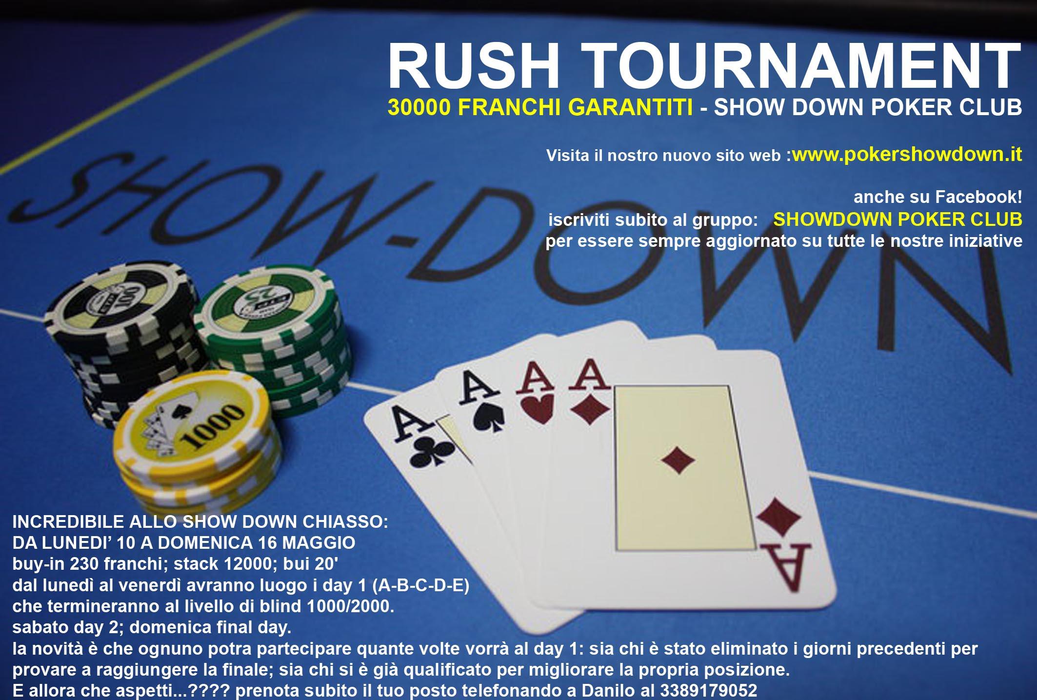 Strategy rush poker tournaments
