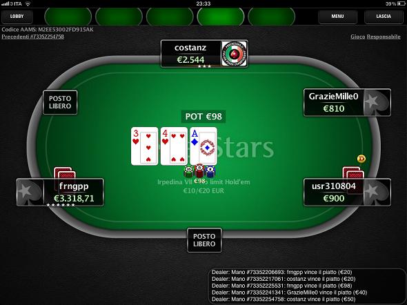 Poker su android soldi veri