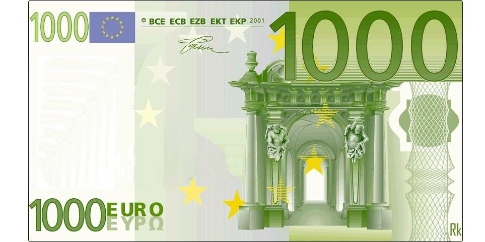 100000 Euro Schein