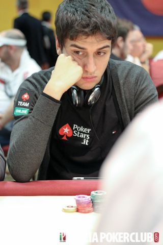 Luca Moschitta all'Italian Poker Tour