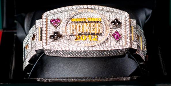 Il braccialetto del Main Event Wsop 2012