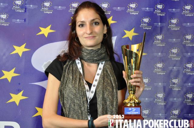 Giulia Carosi, vincitrice del Ladies Event