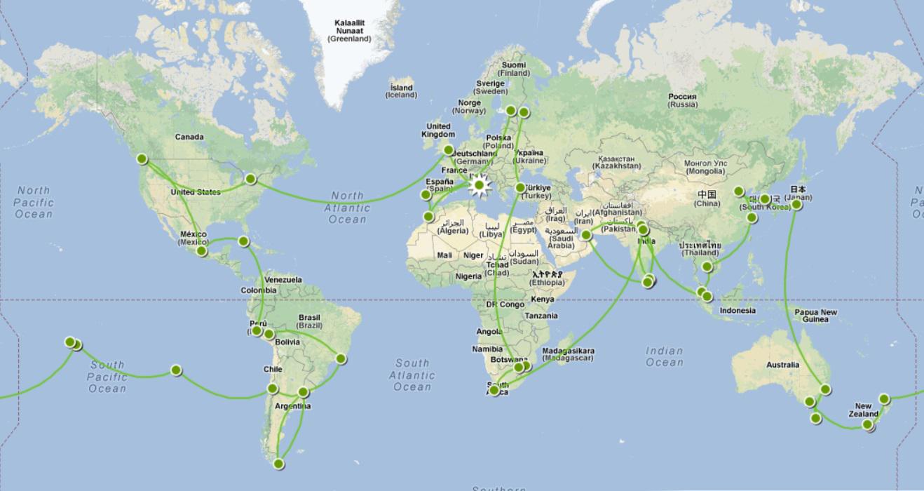 Cartina Mondo Bora Bora.Christian Iwask Mutu Favale Giro Del Mondo In 300 000 Vpp Italiapokerclub