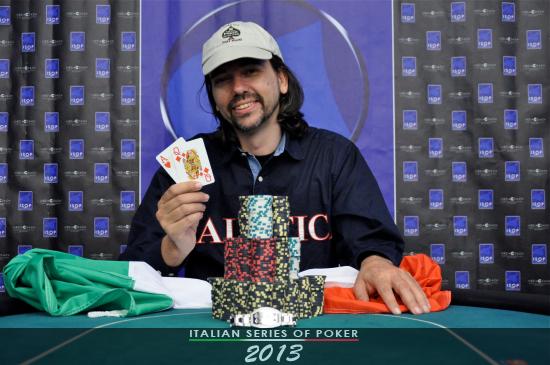 Roby Begni, vincitore del Campionato Italiano Bounty