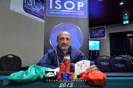 Franco Cultreri, vincitore Campionato Italiano Pro