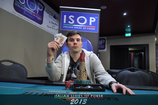 Giorgio Di cunzolo, vincitore del side #5