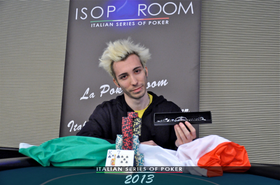 Mattia Gazzola, vincitore del Side Turbo