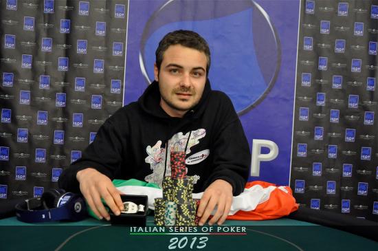 "Federico Incandela, vincitore del ""Friends Event"""