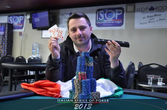 Antonello Longo, vincitore del Side Event Turbo